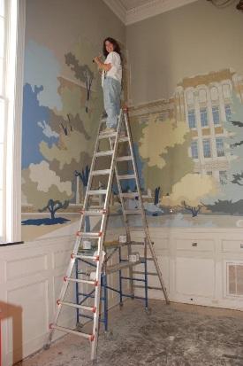 Johnson Board Room Mural