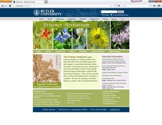Herbarium Screenshot