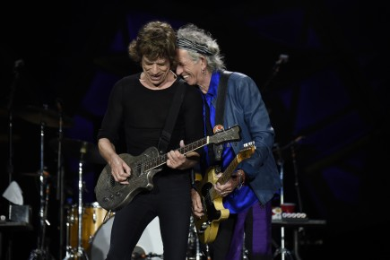 The Butler Chorale will join Mick, Keith, and the rest of the Rolling Stones onstage Saturday, July 4, at the Indianapolis Motor Speedway. (Photo by Kevin Mazur)