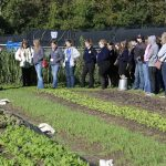 Butler University CUE farm hosts FFA convention attendees October 21, 2016.