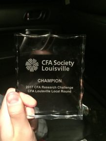 CFA Society Louisville Award