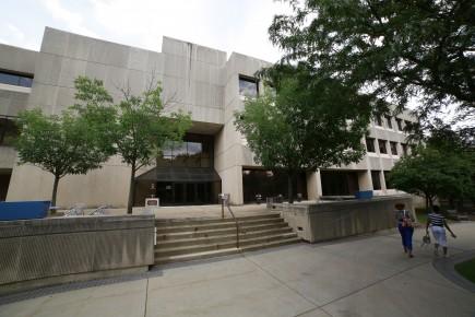 Butler University's College of Business building June 26, 2013.