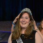 Caitlyn Foye receives her crown. (Photo by Dawn Pearson)