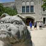 General Bulldog Statue