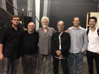 From left: Jesse May, Mark Harris, Fred Tackett, Paul Barrere, Cutler Armstrong, Dan Fuson