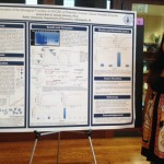 Jessica Bun showed her research on a protein thought to suppress ovarian cancer.