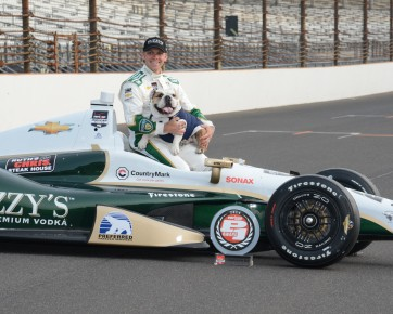 Ed Carpenter and Trip.