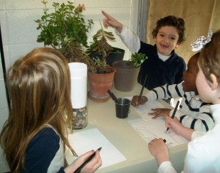 Students at IPS/Butler Lab School