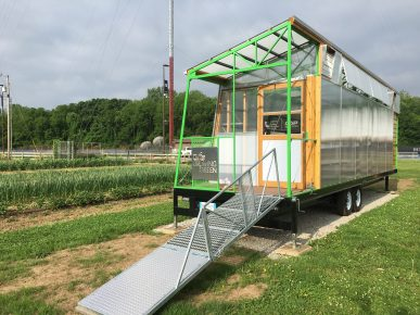 CUE Farm Mobile Greenhouse