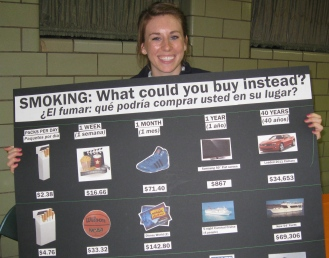 Poster Against Smoking