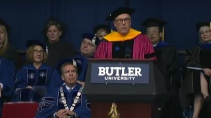 John Lechleiter addresses Commencement