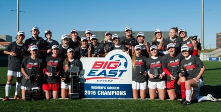 Women's Soccer – Big East Champions