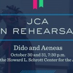 JCA in Rehearsal: Butler Opera Theatre Presents 'Dido and Aeneas'