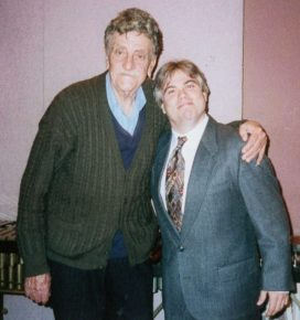 Kurt Vonnegut with Richard Auldon Clark