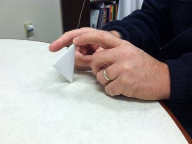 paper football