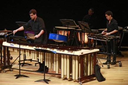 The Percussion Ensemble will be part of the School of Music Showcase on September 21