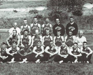 Jack Krebs is third from the left in the middle row.