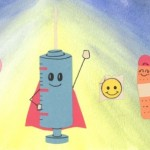 """Anissa Hakim and Mara Olson did the illustrations for """"Max Greene and the Vaccine Team."""""""