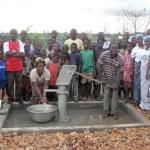 Water Pump in Village