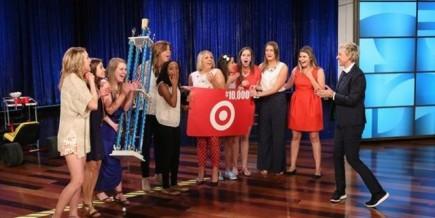 Ellen and her DG friends