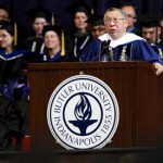 Fong at Commencement
