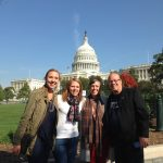 Amanda Huffman, Kaija Bole, Shelly Furuness, and Rick Mitchell shared a COE best practice in Washington.