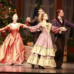 Butler University dance department's The Nutcracker on stage in Clowes Memorial Hall December 3, 2014.